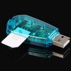 SIM Card Reader Copy Cloner Writer SMS Backup SIM Cards USB Cellphone CA