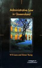 Administrative Law in Queensland by Bill Lane, Simon S. Young (Paperback, 2001)