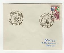 République Malgache 1timbre sur lettre FDC 1959 tampon Tananarive /L542