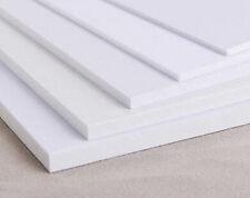1pcs ABS Styrene Plastic Flat Sheet Plate 0.5mm x 200mm x 200mm, White #EG-S