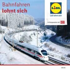 Deutsche Bahn LIDL DB Ticket ICE Freifahrt Gutschein Code 7.1-7.4 KEIN FREITAG :