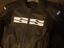 Speed and strength leather mens jacket