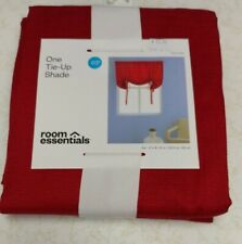 """Tie Up Window Shade Red by Room Essentials 63""""L x 42""""W"""