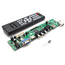 Universal LCD Controller Board TV Motherboard VGA/HDMI/AV/TV/USB