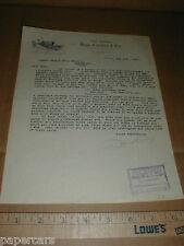 1927 Kirchner Drill Cultivator vintage farm implement receipt Winnipeg Canada