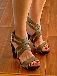 Witchery suede platform shoes size EU41