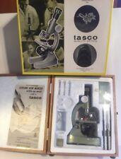 Vintage 1966 Tasco Zoom Microscope Kit 750XKZ #970-5