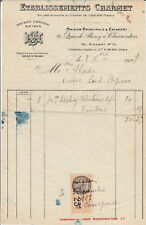 French Bill of Sales with Revenue Stamps