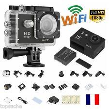 "1.5"" Full HD 1080P 12MP Sport Caméra DV Vidéo WIFI Action Cam Casque Gopro Kit"