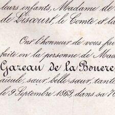 Anasthasie De Gazeau De La Bouere De Caze De La Bove 1869