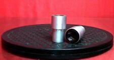 Bausch Lomb 10x Wf Microscope Silver Eyepiece Pair