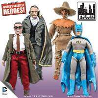 MEGO RETRO SERIES 4;  SET OF 4; 8 INCH FIGURES NEW IN POLYBAG; RAS AL GHUL