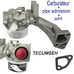 piece moteur carburateur pipe admission joint tecumseh 50 et  H30 H70 HS40 HS50