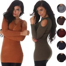 Geblümte Damen-Pullover & -Strickware in Langgröße