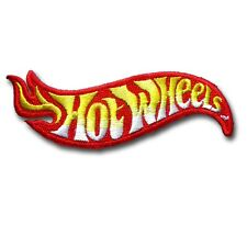 Hot Wheels Patch Iron on Biker Motorcycle Chopper Racing Badge Sew MC Club Turbo