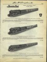 1938 PAPER AD 8 PG American Flyer Electric Toy Train Sets NYC Hudson Freight
