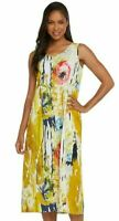 Jams World Janice Dress Spring Rush Print Sundress X-Large Made in USA