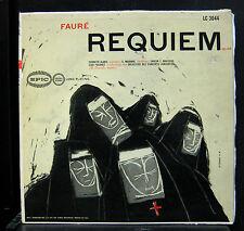 Jean Fournet - Faure Requiem Op. 48 LP LC 3044 Mono Epic USA Vinyl A.F. Arnold