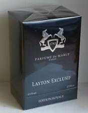 Parfums de Marly Layton Exclusif 75 ml / 2.5 Fl.Oz. EDP New in Box SEALED UNISEX