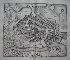 Donauwerth  Bayern  Merian Kupferstich der Erstausgabe 1644