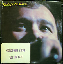 VINYL RECORD DAVID CLAYTON THOMAS PROMOTIONAL ALBUM NOT FOR SALE PROMO