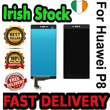Black Huawei P8 LCD Touch Screen Digitizer Replacement Phone Screen Best Quality