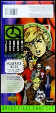1996 Upper Deck Johnny Quest The Real Adventures - Empty Display Box