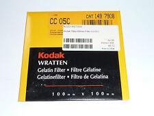 Kodak WRATTEN FILTRI 100mmx100mm no. cc 05c
