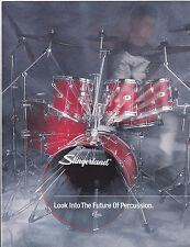 #MISC-0313 - VINTAGE SLINGERLAND DRUM SET musical instrument catalog