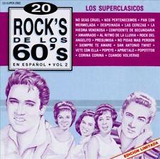 20 Rock's de los 60's, Vol. 2 by Superclasicos (CD, 1993, IM Super)