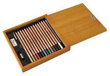 Derwent Academy Watercolour Pencils Wooden Box Set