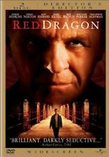 Brand New DVD Red Dragon - Director's Edition Anthony Hopkins Edward Norton