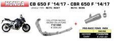 Honda CBR 650 F 2015 escape completo Arrow 71205prn 71614mi