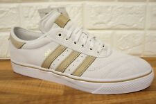 competitive price 102de c32ab Adidas Silas Adi-Ease Premiere Mens Size 11.5 White Beige Skate Trainers  BNWB