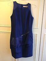 Reiss Gallia Blue Dress, Size 12