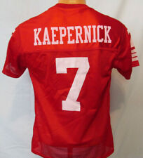 Youth or Womens Colin Kaepernick Red San Francisco 49ers Jersey See Measurements