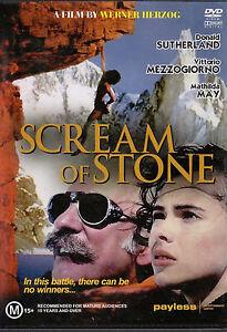 Scream of the stone DVD Mountain Rock Climbing Movie - Werner Herzog