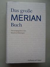 Das grosse Merian Buch 1. Auflage 2008 Reisen Reiseverhalten