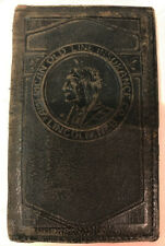 American Old Line Insurance Co. Lincoln NEB Indian Logo Leather ID Holder