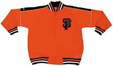 Men's MLB San Francisco Giants Stitches Orange Track Jacket sz Large NWT