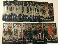 2019-20 Panini Chronicles CRUSADE Complete *High Number* SET 30 cards Zion Ja