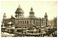 Vintage postcard New City Hall Belfast Northern Ireland W E Walton