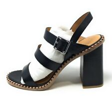 Marc By Marc Jacobs Womens Heeled Sandal Chunky Heel Black Size 11 M US
