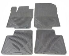 WeatherTech All-Weather Floor Mats for Mercedes ML-Class - 2012 Black Rubber