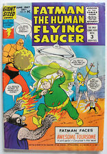 FATMAN HUMAN FLYING SAUCER #2 VG Silver Age Comic 1967 ~ 1st Awesome Foursome