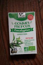 Gommes Bio Propolis Eucalyptus 45g sans Sucre – vecteur Santé