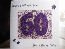 Handmade Personalised Female Birthday Card 21 30th 40th 50th 60th 70th 80th 90th