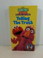 Sesame Street - Kids Guide to Life: Telling the Truth (VHS, 1997)