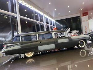 1/21 Ertl Joyride Homemade Ghostbusters 1959 Cadillac Ambulance Boxed Not 1/18