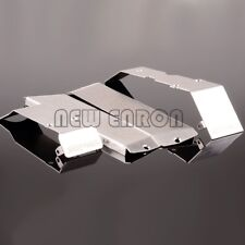 Stainless Steel Chassis Armor Protection Skid Plate for 1/10 Traxxas E-Revo 2.0